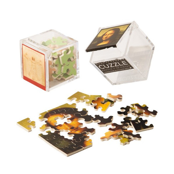 Les 2 mini-puzzles Léonard de Vinci