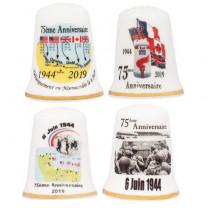 Les quatre dés 75ème anniversaire du D-day