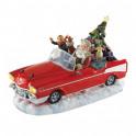 Le cabriolet enchanté du Père Noël