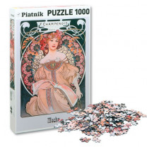 Le puzzle Rêverie d'Alfons Mucha