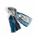 Le foulard en soie Au Pied de la Cascade
