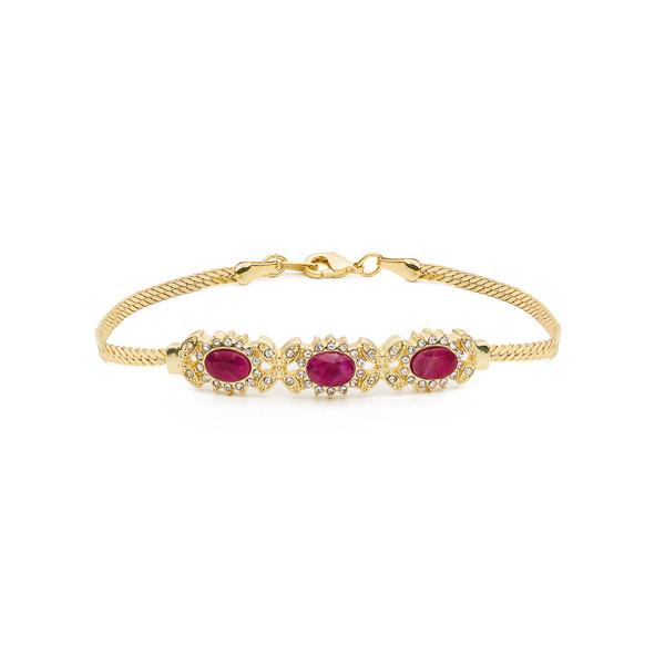 Le bracelet trois rubis Médicis