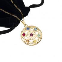 Le médaillon aux 7 cristaux de Swarovski®