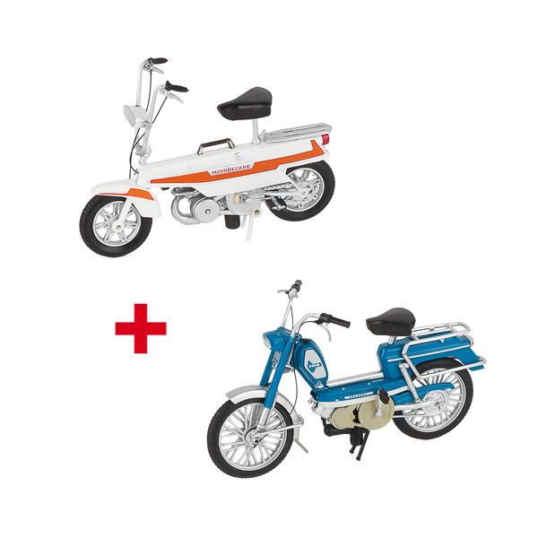 Les deux motocyclettes