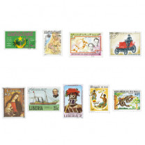150 timbres Afrique de l'Ouest