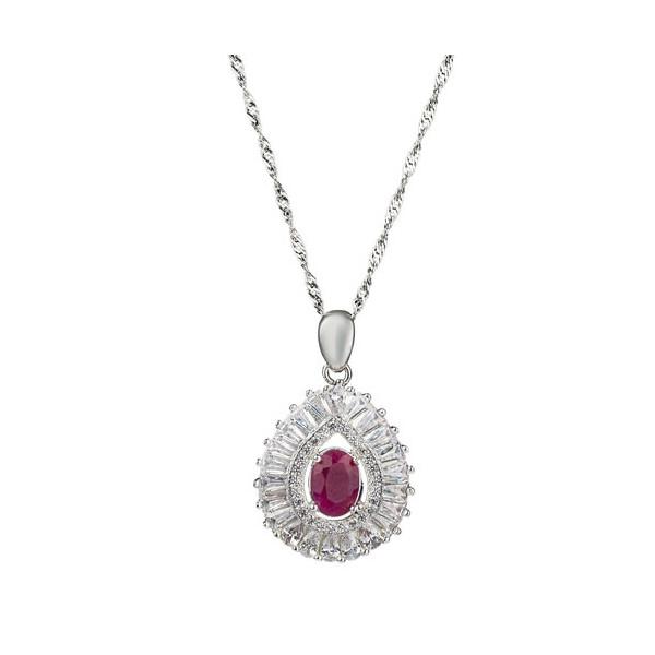 Collier rubis Duchesse