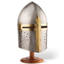 Le heaume de chevalier