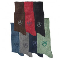 Chaussettes laine «mollets forts» - les 7 paires