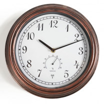 Horloge-thermomètre radio-pilotée
