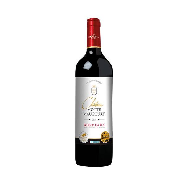 Château Motte Maucourt 2018 - les 12 bouteilles soit 5 bouteilles OFFERTES