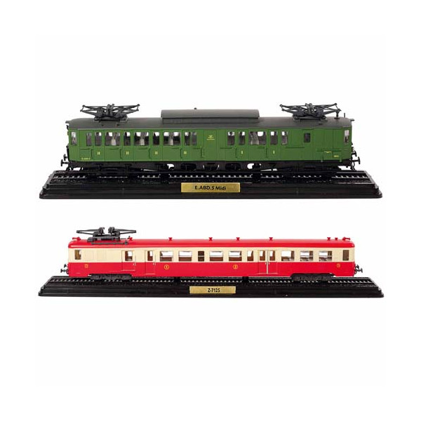 Les deux trains