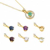 Le collier aux pierres interchangeables