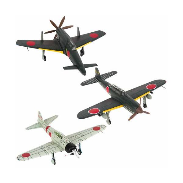 Les trois avions