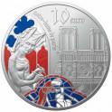 La 10 Euro Argent France BE 2020 colorisée - Europe gothique