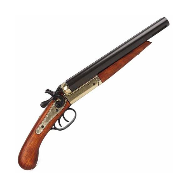 Le pistolet double canon - 1868