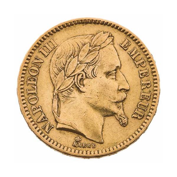"""La 20 Francs Or Napoléon III """"Tête Laurée"""""""