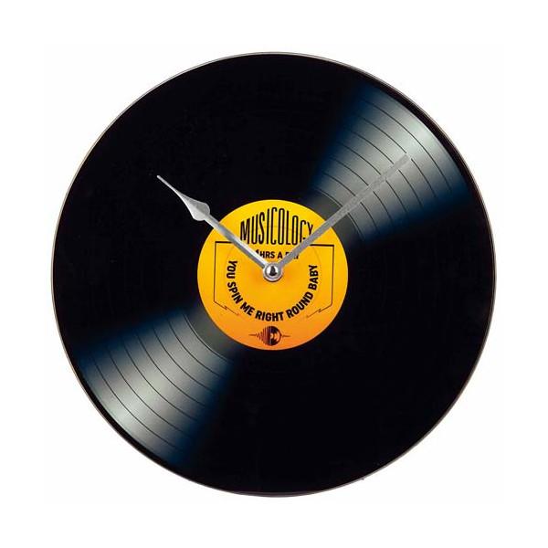 La pendule disque vinyle