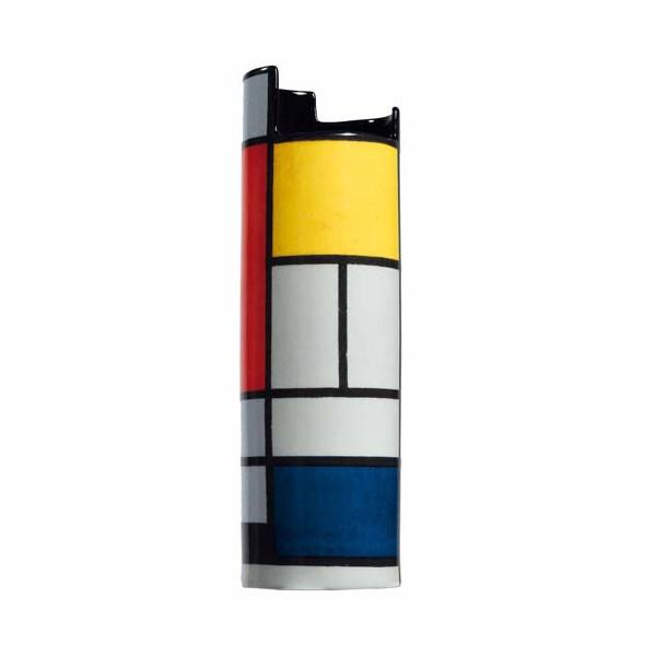 Le vase inspiré de Mondrian