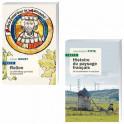 Lot de 2 ouvrages : Rollon, le chef viking qui fonda la Normandie + Histoire du paysage français, de la Préhistoire à nos jours