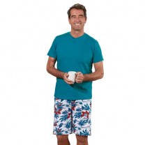 Pyjashort bleu Tropic