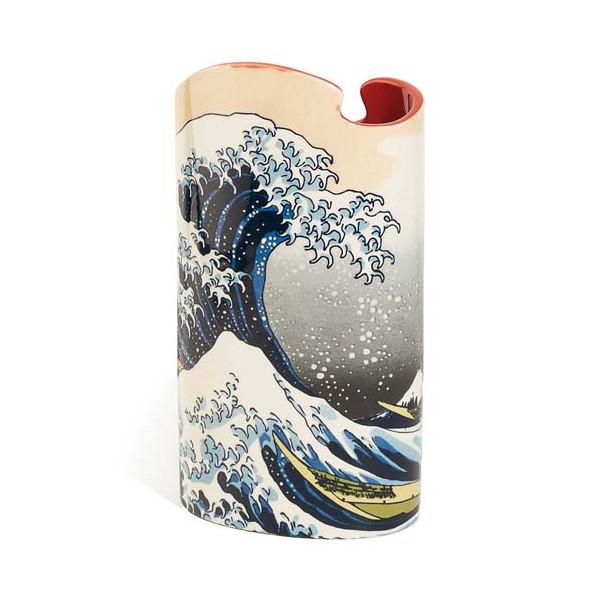 Le vase La grande vague de Kanagawa