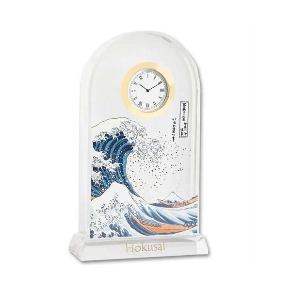 La pendule La grande vague de Kanagawa