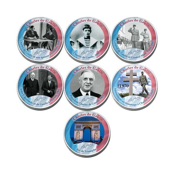 Le coffret de souvenir Charles de Gaulle