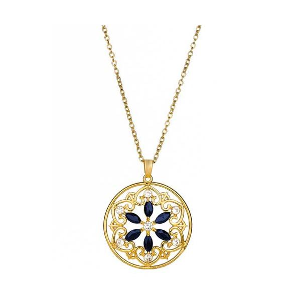 Le médaillon Rosace de saphir
