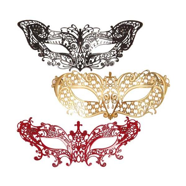 Les trois magnets masques de Venise