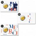 Les trois 2 Euro France BU 2020 : Recherche médicale