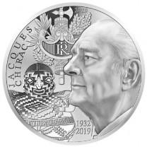 La 20 Euro Argent France Belle Épreuve 2020 Jacques Chirac