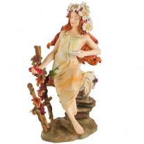 """La statuette Mucha """"L'Automne"""""""