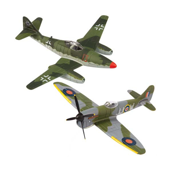 Le duo d'avions IIIe Reich/Angleterre