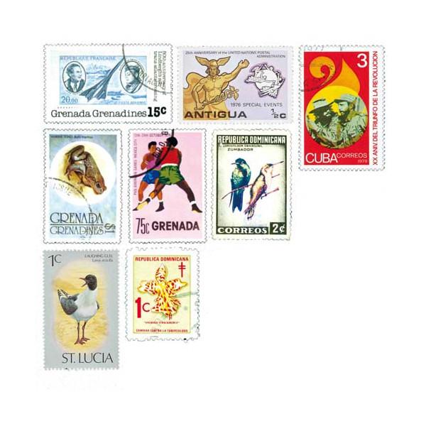 Les 1030 timbres Antilles*
