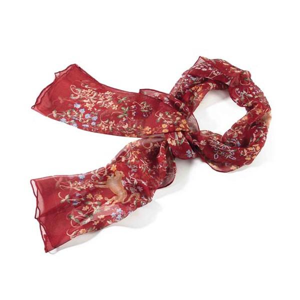 Le foulard La Dame à la Licorne