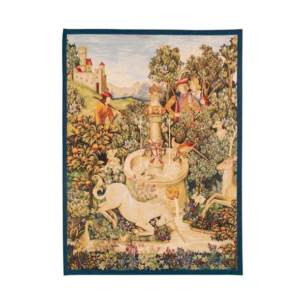 La tapisserie Licorne à la Fontaine