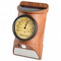 Balise solaire thermomètre