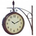 Horloge/thermomètre «Grand Central»