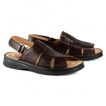 Sandales cuir 5 zones