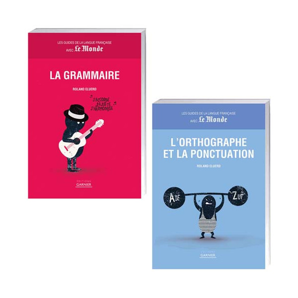 Lot de 2 ouvrages : La Grammaire + L'Orthographe et la ponctuation