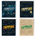 Lot de 4 ouvrages zapping
