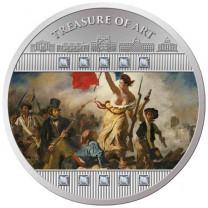 La Pièce Argent Belle Épreuve 2020 - Delacroix - La liberté guidant le peuple