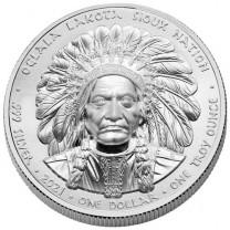 La 1 Dollar Argent Lakota Sioux Nation 2021