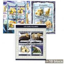 10 Blocs Ours polaires