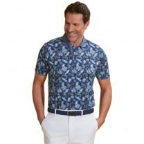 Polo bleu Tropic