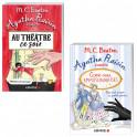Lot de 2 ouvrages : Au théâtre ce soir + Gare aux empoisonneuses