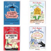 Lot de 4 ouvrages : Agatha Raisin