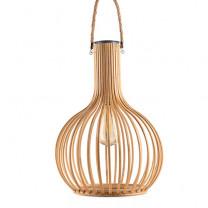 Lanterne solaire bambou