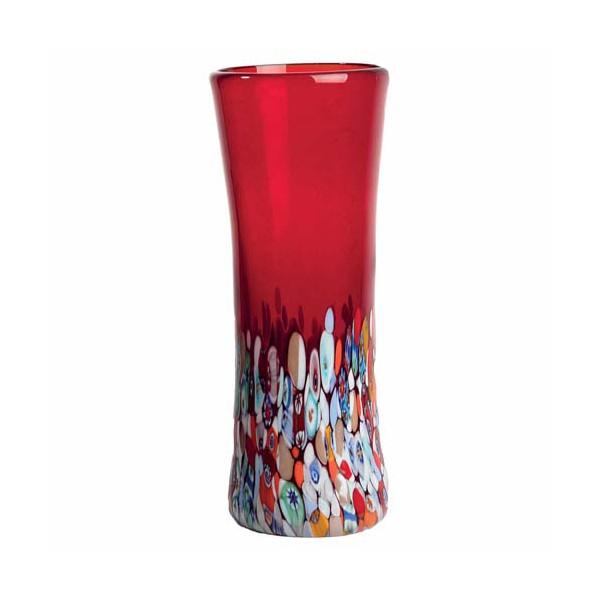 Le vase de Murano rouge
