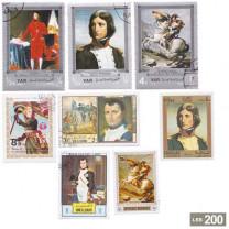 Les timbres Napoléon Ier
